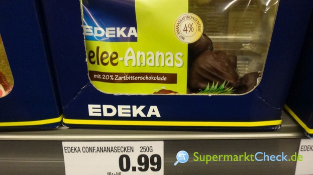 Foto von EDEKA Gelee Ananasecken