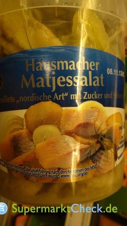 Foto von Bon appetit Hausmacher Matjessalat