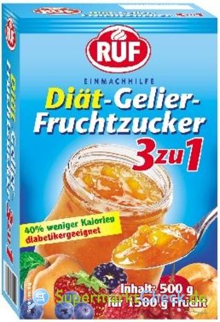 Foto von Ruf Diät-Gelier-Fruchtzucker