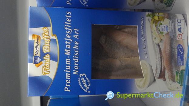 Foto von Nordholmer Fisch Buffet Premium Matjesfilets Nordischer Art
