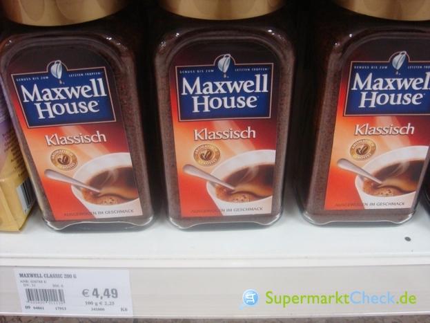 Foto von Maxwell House
