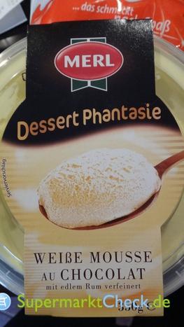 Foto von Merl Dessert Phantasie Weiße Mousse au Chocolat