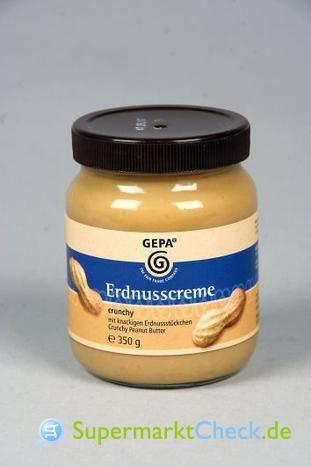 Foto von Gepa Erdnusscreme Crunchy