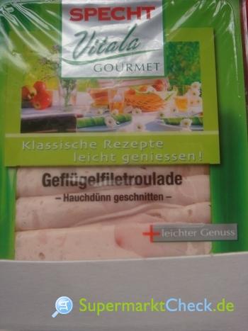 Foto von Specht Vitalia Gourmet Geflügelfiletroulade
