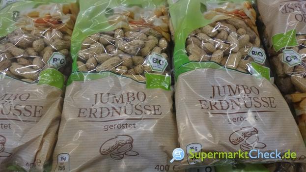 Foto von real Bio Jumbo Erdnüsse