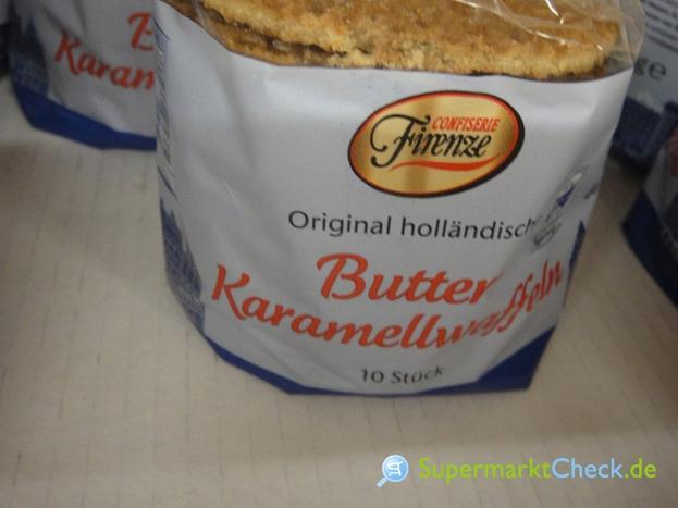 Foto von Confiserie Firenze Holländische Butter Karamelwaffeln