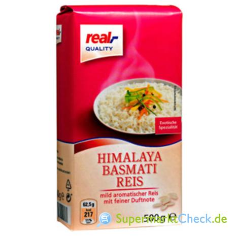 Foto von real Quality Himalaya Basmati Reis