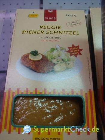 Foto von Viana 1/2 Pfund Veggie Wiener Schnitzel