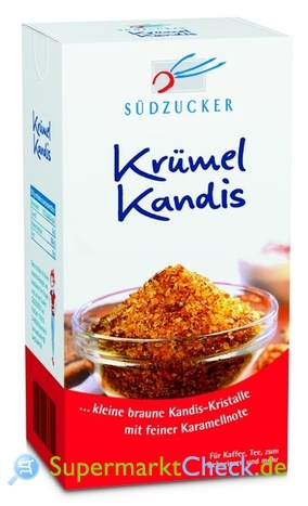 Foto von Südzucker Krümel Kandis
