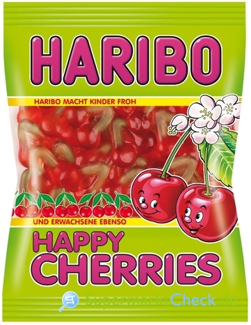 Foto von Haribo Happy Cherries