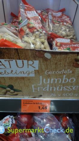Foto von Naturlieblinge Jumbo Erdnüsse