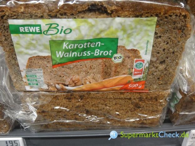 Foto von REWE Bio Karotten Walnuss Brot