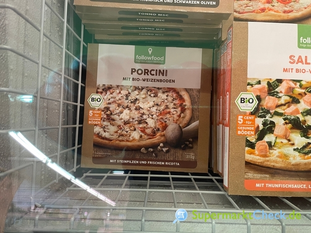 Foto von followfood BIO Pizza Porcini