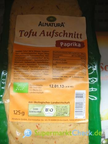 Foto von Alnatura Tofu Aufschnitt