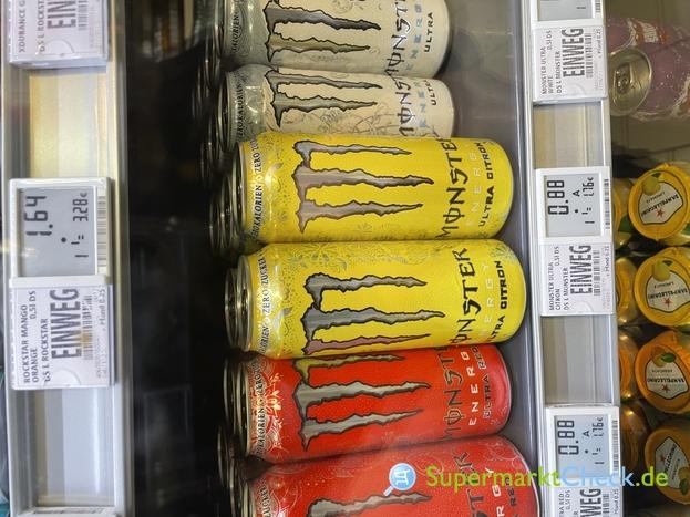 Foto von Monster Energy Ultra Citron