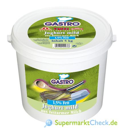 Foto von Campina Gastro Joghurt mild