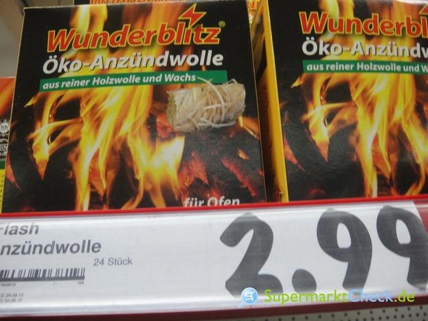 Foto von Wunderblitz Öko Anzündwolle
