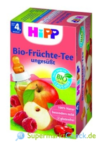 Foto von Hipp Bio-Früchte-Tee ungesüßt