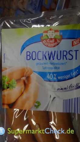 Foto von Gut Bartenhof Bockwurst