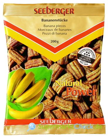 Foto von Seeberger Bananenstücke