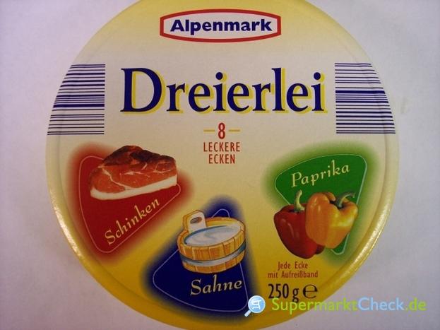 Foto von Alpenmark Dreierlei Schmelzkäse