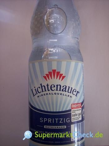 Foto von Lichtenauer Mineralwasser