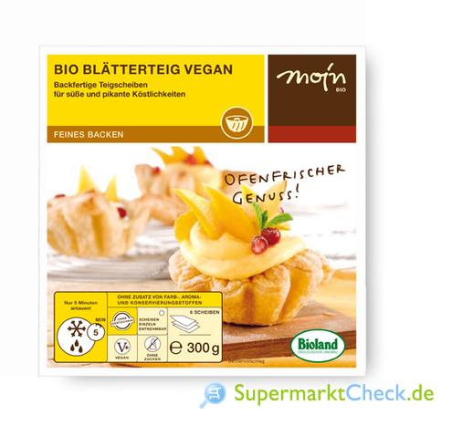 Foto von MOIN Bio Butter Blätterteig Vegan
