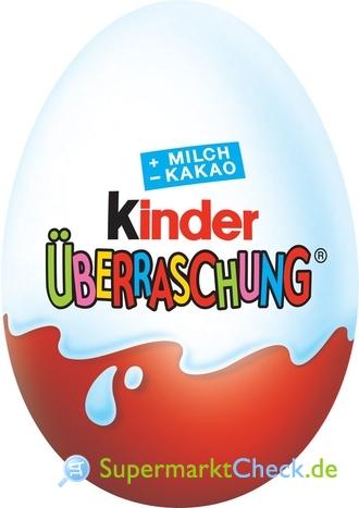 Foto von Ferrero Kinder Überraschung Ei