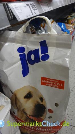 Foto von Ja! Hunde Komplettmenue