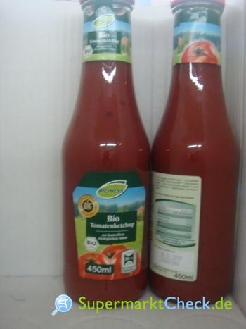 Foto von Bioness Tomatenketchup