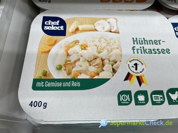 Foto von chef select Hühnerfrikassee