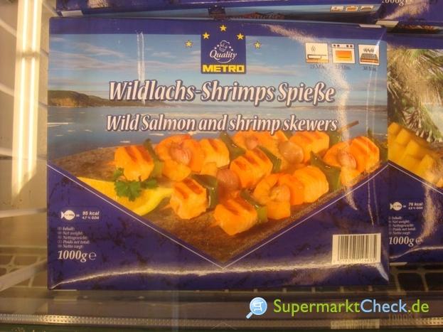 Foto von Metro Quality Wildlachs-Shrimps-Spieße