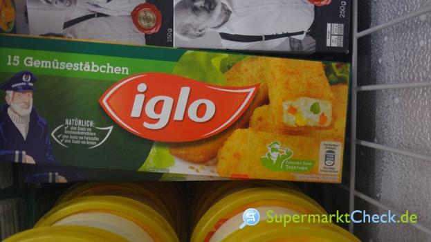 Foto von Iglo Gemüsestäbchen