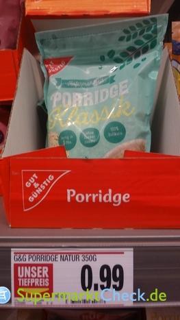 Foto von Gut & günstig Porridge Klassik