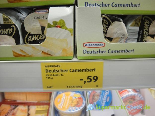 Foto von Alpenmark Deutscher Camembert