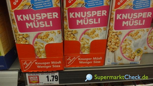 Foto von Gut & Günstig Knusper Müsli