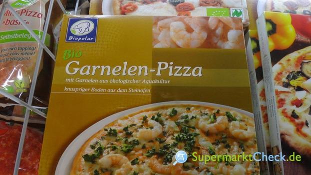 Foto von Biopolar Bio Garnelen Pizza