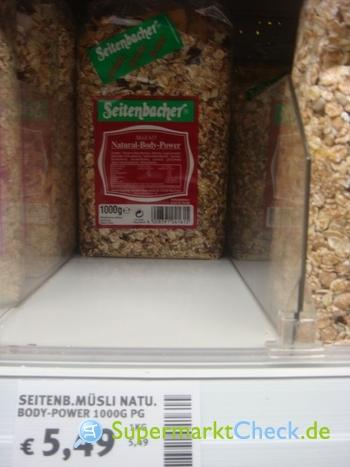 Foto von Seitenbacher Müsli 615
