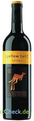Foto von Yellow tail Shiraz