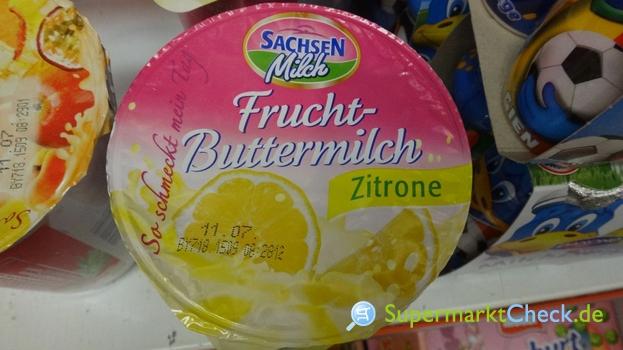 Foto von Sachsenmilch  Frucht Buttermilch