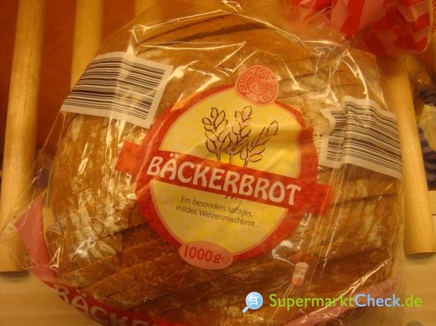 Foto von Bäckerbrot /Aldi Süd Weizenmischbrot