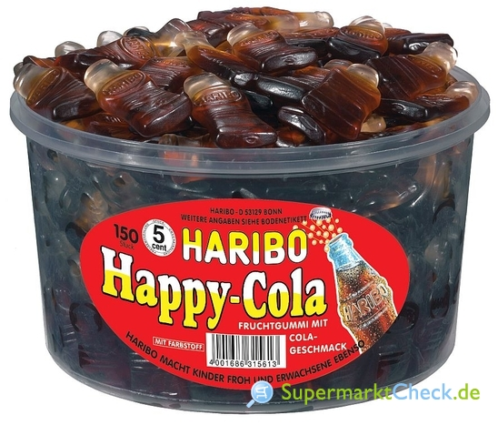 Foto von Haribo Happy Cola