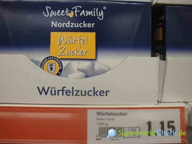 Foto von Sweet Family Würfel Zucker