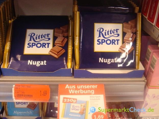Foto von Ritter Sport Schokolade