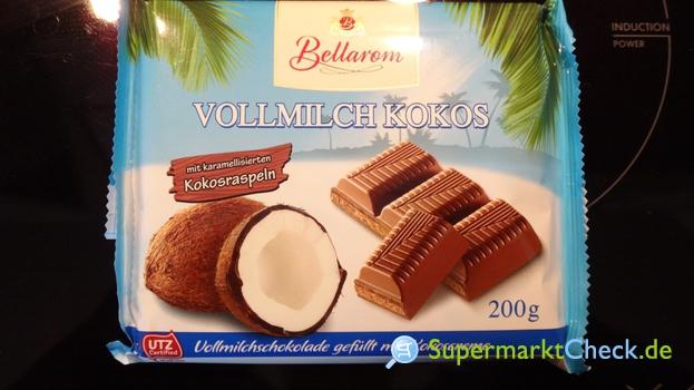 Foto von Bellarom Kokos Schokolade