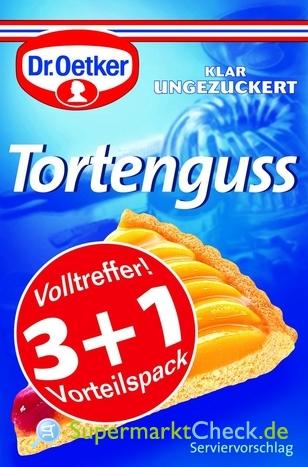 Foto von Dr. Oetker Tortenguss 4-er