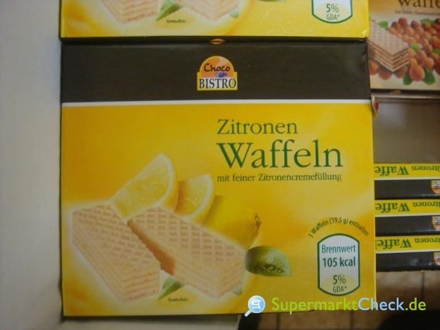 Foto von Choco Bistro Zitronen Waffeln