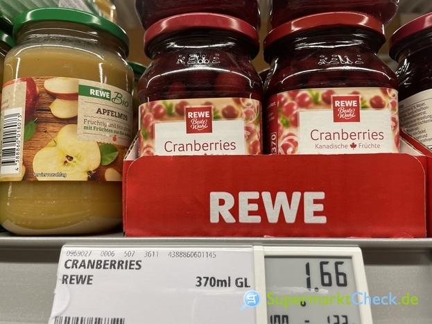 Foto von REWE Beste Wahl Cranberries