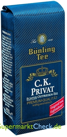 Foto von Bünting Tee C.K. Privat