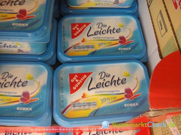 Foto von Gut & Günstig Die Leichte Halbfett Margarine